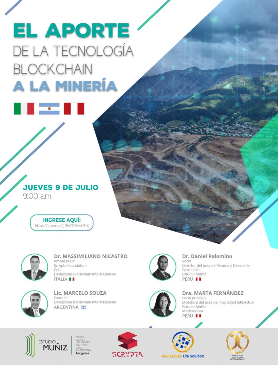 El Aporte de la Blockchain a la Mineria