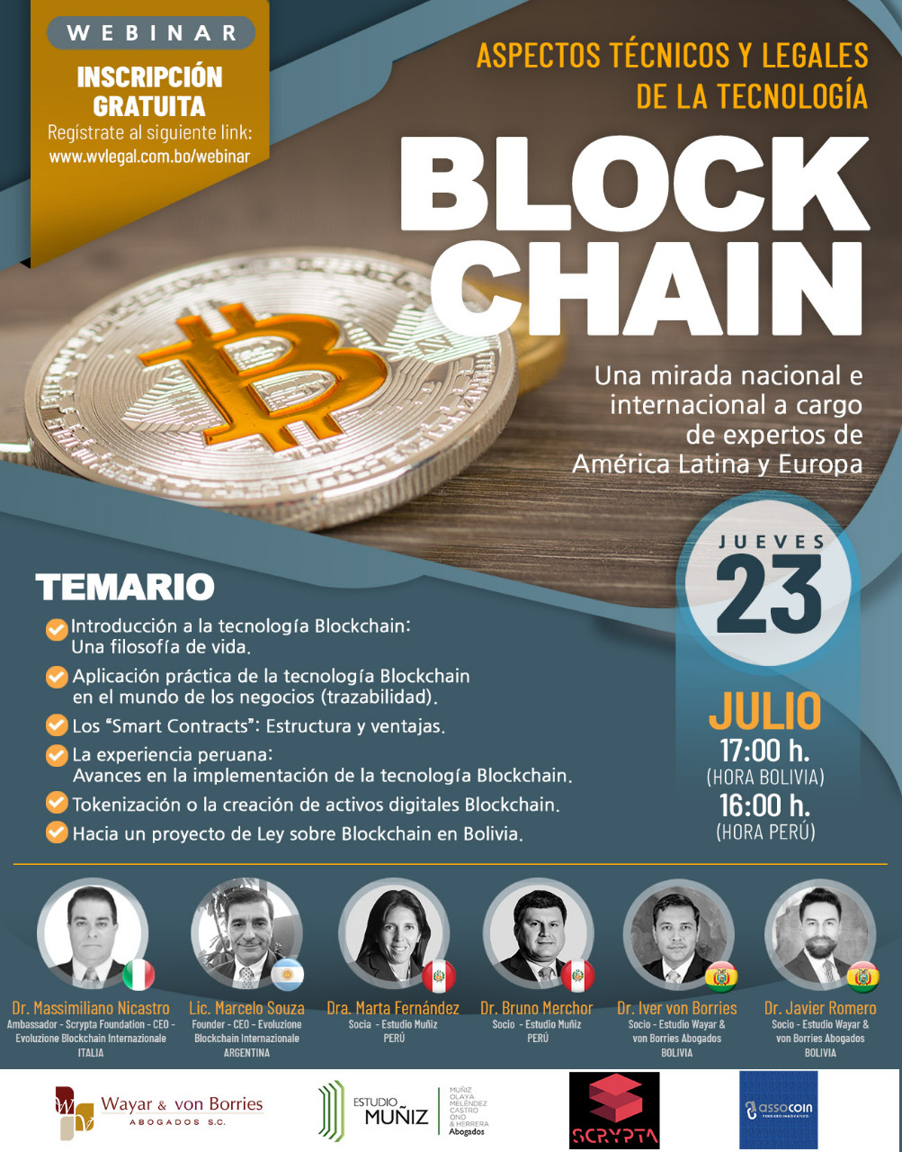 Aspector Tecnicos y Legales en Blockchain